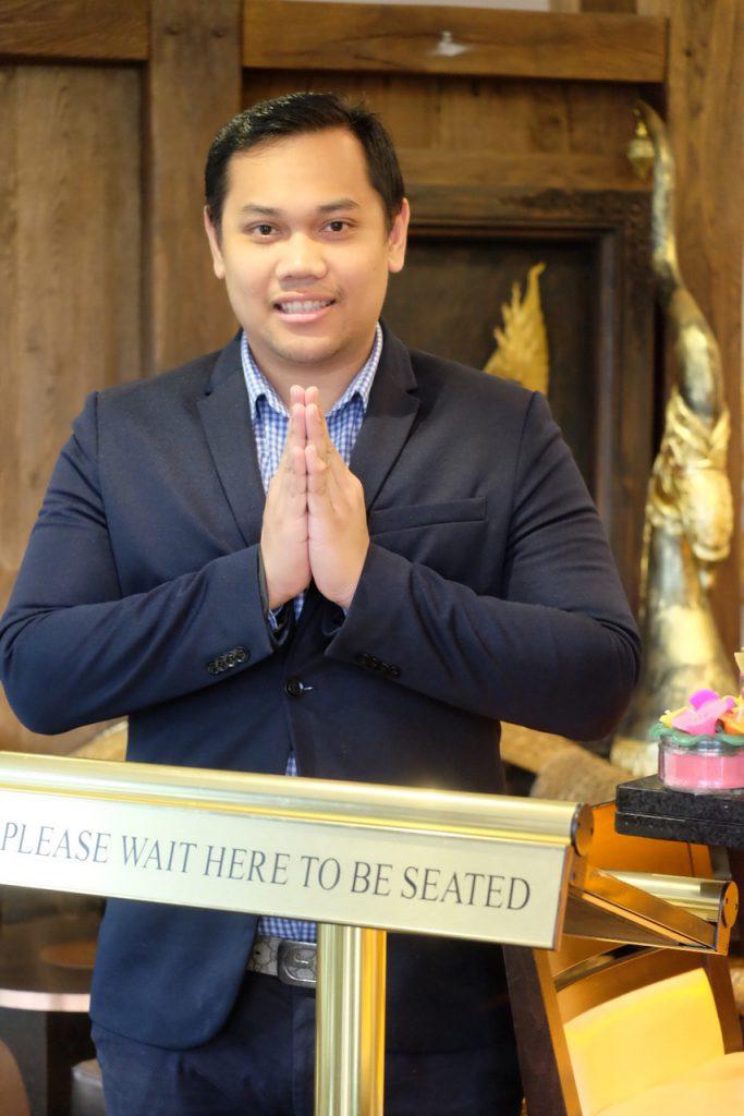 Sukhothai Harrogate Manager - Manny